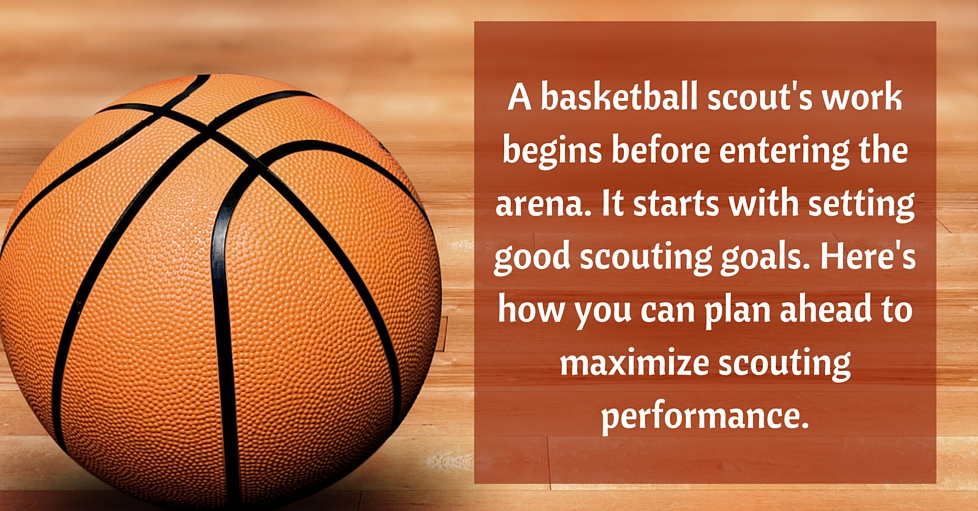 How to set scouting goals