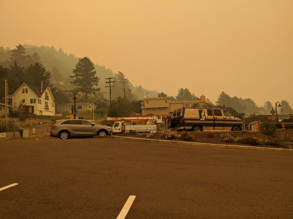 What Yachats did in a time of fire and smoke