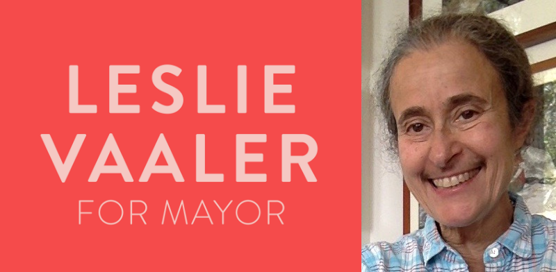 Leslie Vaaler Yachats Mayor
